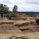Skarby minionej epoki w Barczewku. Kolejne odkrycia archeologów odsłaniają tragiczną historię miasta