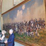 """To była największa napoleońska bitwa w obecnych granicach Polski. Lidzbarskie muzeum pokazało obraz """"Bitwa pod Heilsbergiem"""""""