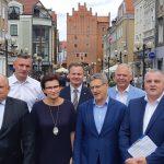 Politycy Koalicji Obywatelskiej z Warmii i Mazur zaprezentowali listy wyborcze do Sejmu. Sprawdź, kto się na nich znalazł