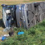 Zderzenie autokaru i 2 aut osobowych między Klewkami a Wojtkowizną. Rannych zostało 27 osób, droga przez kilka godzin była zablokowana