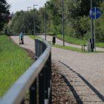Świetna wiadomość dla pieszych i rowerzystów. Można już korzystać z całej Łynostrady [ZDJĘCIA + VIDEO]
