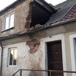 W Mysłakach zawaliła się ściana wielorodzinnego domu