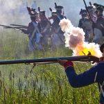 Bitwa wojsk napoleońskich i starcie w czasów II wojny światowej. Widowiskowa lekcja historii na pikniku w Jonkowie