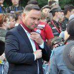 """""""Na słowie harcerza polegaj jak na Zawiszy"""". Prezydent Andrzej Duda spotkał się ze skautami"""