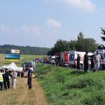 Większość osób poszkodowanych w wypadku niedaleko Klewek opuściła szpitale
