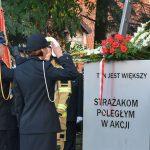 W rocznicę zamachu terrorystycznego na World Trade Center warmińsko-mazurscy strażacy stanęli do apelu poległych