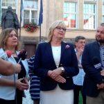 Kandydatki Koalicji Obywatelskiej rozpoczęły kampanię wyborczą w Ełku