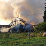 W Zalbkach spłonęła stodoła