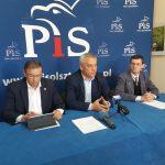 """Działacze PiS odpowiadają na konferencję prezydenta Olsztyna. """"Realizujemy inwestycje, które wspierają miasto i region"""""""
