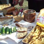 Tradycyjne dania, występy i konkursy. Rolnicy z gminy Ełk dziękowali za zebrane plony