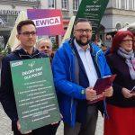 """Kandydaci Lewicy przedstawili """"Zielony pakt dla Polski"""" i zapowiadają większe dotacje na energię odnawialną"""