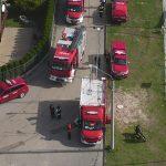 W Braniewie strażacy walczyli z powodzią – na szczęście to były tylko ćwiczenia. Zakończyła się akcja Zalew 2019