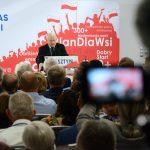 """Jarosław Kaczyński: """"Sto obwodnic"""" nowym hasłem wyborczym PiS. Prezes Prawa i Sprawiedliwości na konwencjach w Olsztynie i Elblągu"""