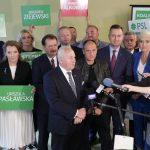 """""""Wzywamy wszystkie partie polityczne do podpisania paktu zdrowia"""". Szefowie PSL-Kukiz'15 przedstawili program wyborczy"""