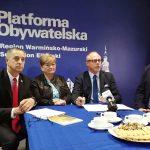 W Elblągu kandydaci Koalicji Obywatelskiej przedstawili program dla Warmii, Mazur i Powiśla