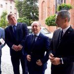 Ubiegający się o reelekcję senator Jerzy Wcisła z Platformy Obywatelskiej z poparciem Lewicy i PSL