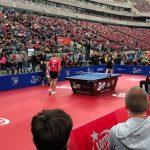 Tenisiści stołowi zagrali na Stadionie Narodowym. Dekorglass wygrał z mistrzem Polski