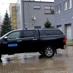 To auto do zadań specjalnych. Policjanci z powiatu ostródzkiego dostali wartą 170 tysięcy złotych terenową toyotę