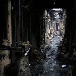 Milionowe straty po pożarze w olsztyńskim Banku Żywności. Nadzór budowlany całkowicie wyłączył budynek z użytkowania [FOTO,VIDEO]