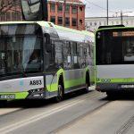 Autobus i tramwaj zamiast samochodu. Olsztynianie chętnie korzystają z komunikacji miejskiej