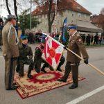 """Elbląski Pułk Wsparcia Dowodzenia otrzymał sztandar. """"To od zawsze był symbol zwycięstwa, nadziei i patriotyzmu"""""""