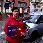 Chcą zniesienia podatków od emerytur i aktywizacji seniorów. W Elblągu Monika Falej przedstawiła program Lewicy