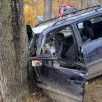 Śmiertelny wypadek koło Pieniężna. Nie żyje siedmiomiesięczne dziecko