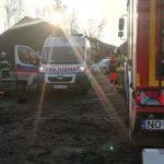 Tragiczny wypadek przy pracy. 62-latek zginął na miejscu
