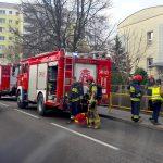 Gaz pieprzowy w jednej ze szkół w Elblągu? Strażacy ewakuowali uczniów i nauczycieli