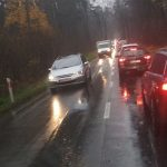 Zderzenie samochodów na trasie Olsztyn-Dywity