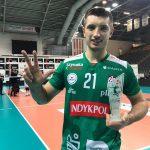 Wojciech Żaliński wraca do zdrowia. U przyjmującego wykryto koronawirusa