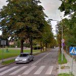 Utrudnienia w pobliżu Szpitala Miejskiego w Elblągu. Przy ul. Komeńskiego obowiązuje ruch jednokierunkowy