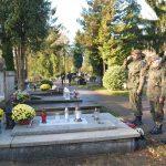 Terytorialsi odwiedzają groby bohaterów wojennych