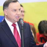 Prezydent Andrzej Duda odwiedził fabrykę Szynaka i spotkał się z mieszkańcami Nowego Miasta Lubawskiego