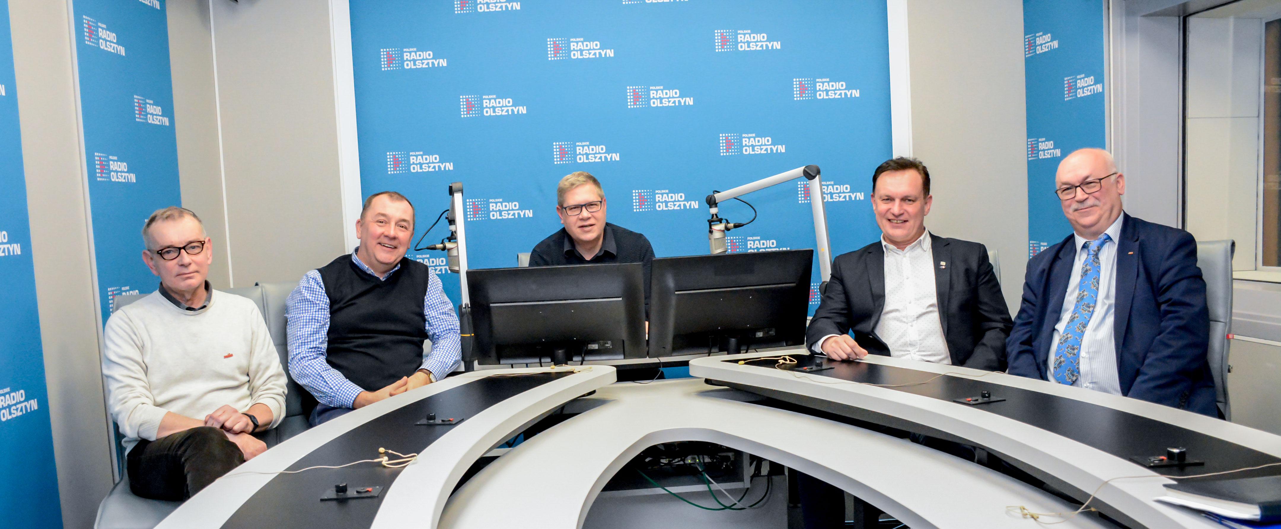Od lewej: Wojciech Kowalski, Rafał Laskowski, Krzysztof Kaszubski, Jarosław Szunejko, Wiesław Łubiński