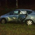 Wypadek w okolicach Braniewa. Jedna osoba trafiła do szpitala