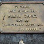 Mija 49 lat od śmierci Mariana Sawicza, jednej za ofiar Grudnia '70