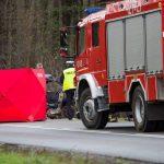 Śmiertelny wypadek między Ornetą a Dobrym Miastem. Trasa jest zablokowana