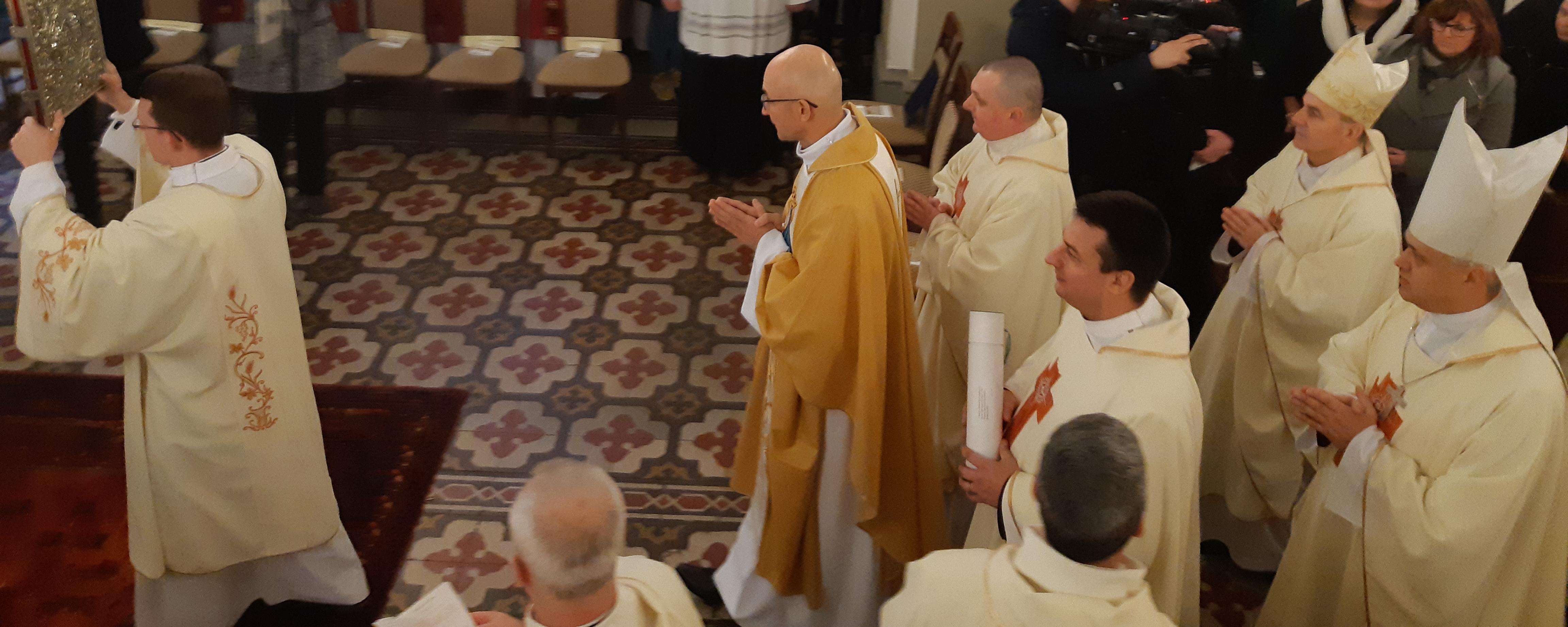 święcenia, biskup, Adrian Galbas, Ełk, katedra św. Wojciecha, Msza Święta