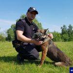 Po 8 latach opuściła szeregi braniewskiej policji. Czarę czeka zasłużona emerytura