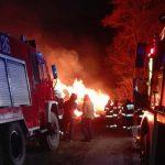 Pożary w okolicach Jezioran. Spłonęło około 400 balotów siana