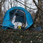 Bezdomny spłonął w namiocie, w którym mieszkał. Do tragedii doszło w Olsztynie