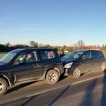 Zderzenie trzech samochodów między Olsztynem a Dywitami. Koniec utrudnień na DK 51