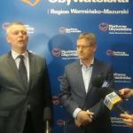 Trwa kampania na przewodniczącego Platformy Obywatelskiej. W Olsztynie gościł Tomasz Siemoniak