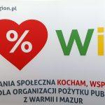Coraz więcej mieszkańców wspiera organizacje z Warmii i Mazur. Ruszyła akcja zachęcająca do przekazania 1% podatku
