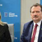 Iwona Arent i Zbigniew Ziejewski zgodnie o referendum w sprawie odwołania prezydenta Olsztyna