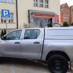 Nowe auto terenowe wzbogaciło Państwową Straż Rybacką. Samochód trafi do strażników z posterunku w Ostródzie