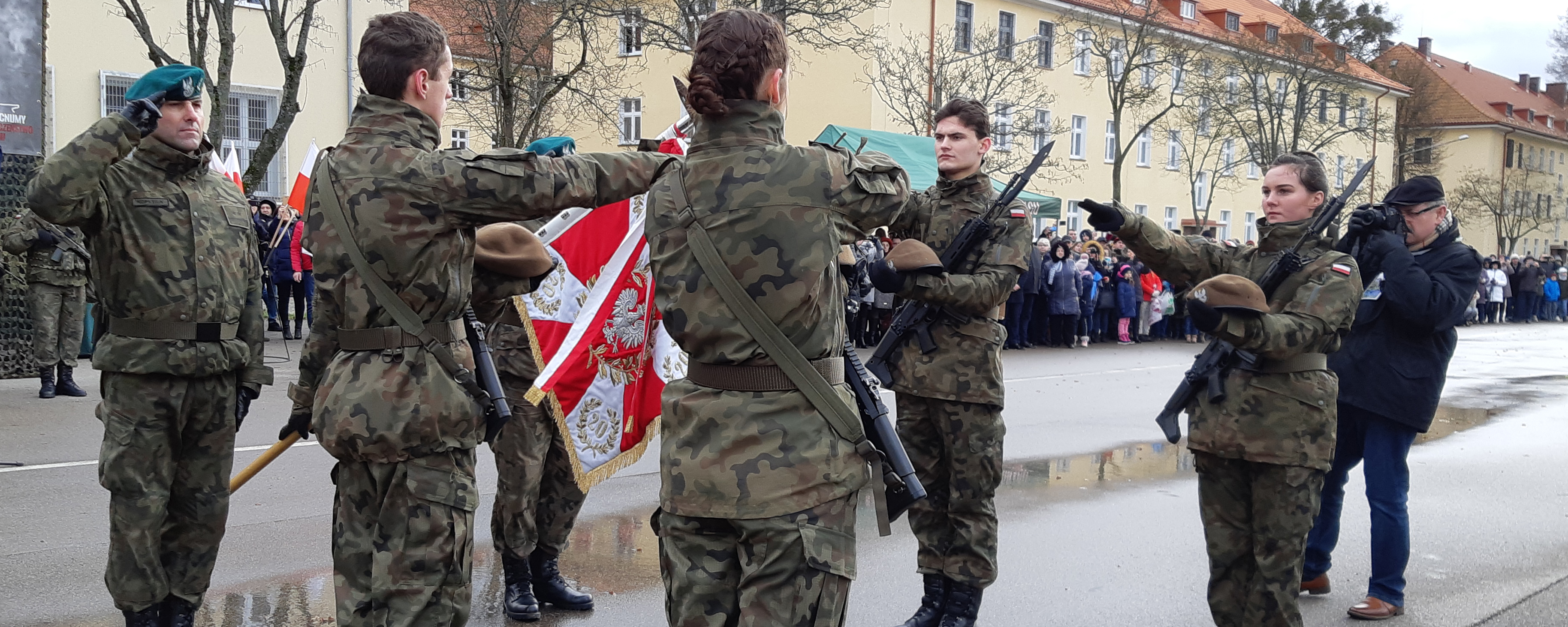 przysięga, terytorialsi, żołnierze, Morąg, Wojska Obrony Terytorialnej, wojsko, slider