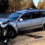 Wypadek okazał się tragiczny. Nie udało się uratować rannego kierowcy