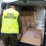 Szajka tytoniowa rozbita! To finał akcji prowadzonej przez Warmińsko-Mazurski Oddział Straży Granicznej